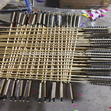 AIMS wholesale wooden arrows for movie prop archery arrows for film company