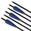 archery equipment bow &arrow 2216 Archery Aluminum Hunting arrows with Crossbow Bolts