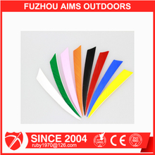 AIMS Wholesale streamline cut turkey feather fletchings price for archery arrows and bows