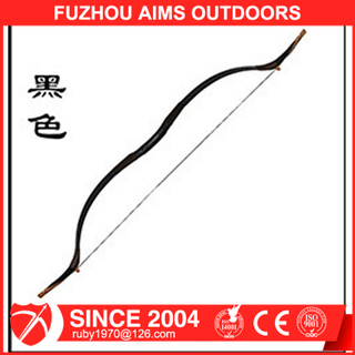 AIMS black Popular snake leatherarchery recurve bow for shooting