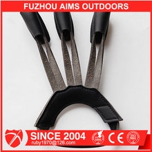 Aims Archery shooting blackLeather three finger protector guard for hunting