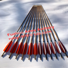 Aims china archery equipment toy bow and arrow cheap bamboo arrows